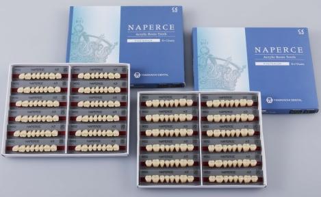 Зуби акрилові Yamahachi NAPERCE жувальні (1 гарнітур — 8 шт.)