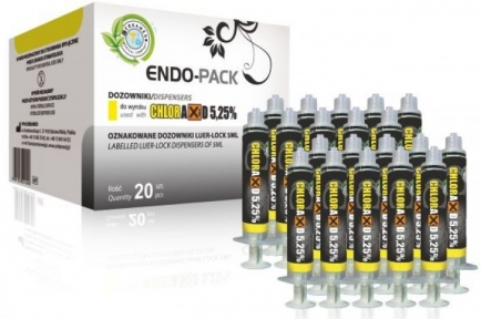 ENDO-PACK шприцы для промывания, 20 шт