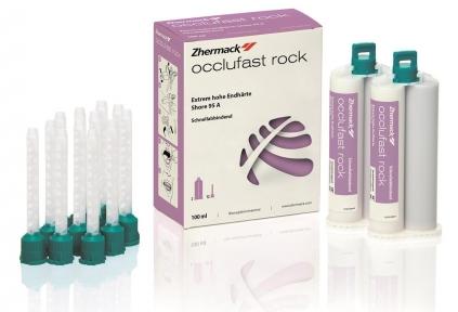 Occlufast Rock (Оклюфаст рок) база + катализатор 2x50 мл. + 12 наконечников