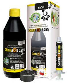 CHLORAXID 5,25% (Хлораксид 5,25%) рідина для промивання кореневих каналів
