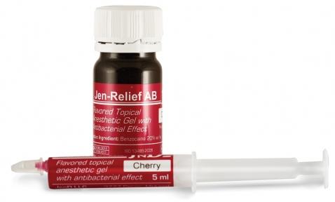 Jen-Relief (Джен Реліф) гель для знеболення м'яких тканин порожнини рота