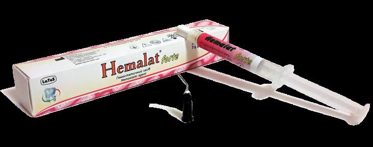 Hemalat Forte (Гемалат форте) гемостатичний засіб при капілярній кровотечі, гель 3 г.