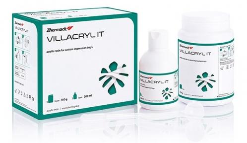 Villacryl ІТ (Виллакрил АйТи) изготовления индивидуальных оттискных ложек, 750г. + 200мл.