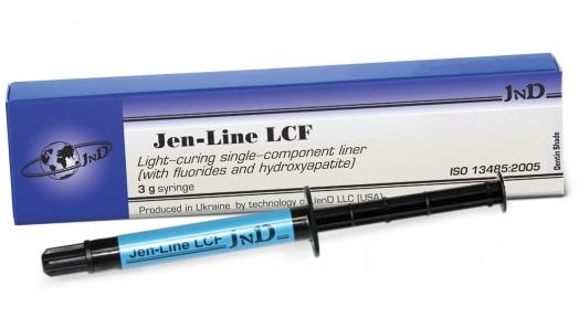 Jen-Line LCF (Джен-Лайн) светоотверждаемый прокладочный материал, 3 г.