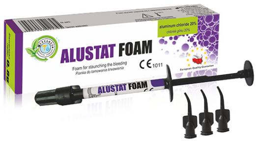 ALUSTAT FOAM 15% (Алюстат Фоам) пенка для остановки кровотечения, 0.8 г.