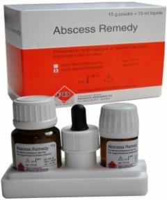 Абсцесс ремеди (Abscess remedy) паста для пломбировки каналов,15г.+15мл.