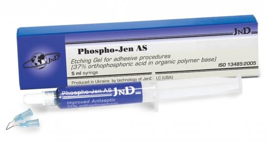 Phospho-Jen AS (Фосфоджен АС) гель травильный, шприц 5 мл.