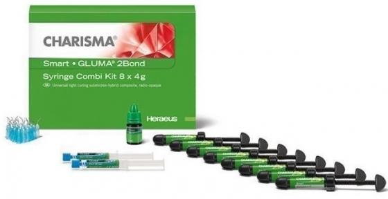 Charisma Smart Kit, універсальний фотокомпозит, набір 8 шприців + GLUMA 2Bond
