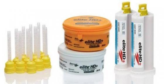 ELITE HD+ SPECIAL PACK, А-силикон, набор база 2х250 мл. + картриджи 2х50мл.
