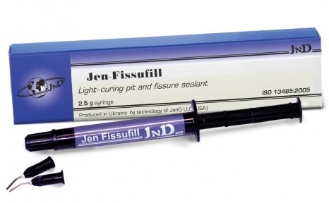 Jen Fissufill (Джен-Фисуфил) композит для запечатывания фиссур, 2,5 мл.