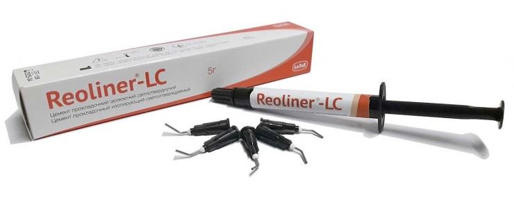 Reoliner-LC (Реолайнер ЛС) прокладочный изолирующий цемент, 5 г., Latus