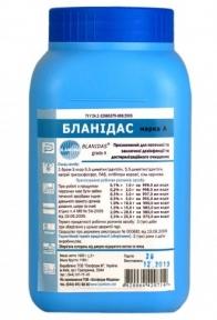 Бланідас (марка А) універсальний порошкоподібний хлорвмісний засіб дезінфекції, 1 кг.