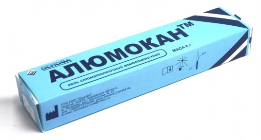 Алюмокан, гемостатический гель 8 г.