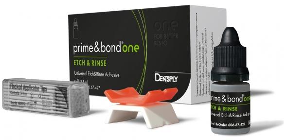 Prime&Bond One ETCH&RINSE (Прайм бонд Ван) універсальний адгезив, 3,5 мл.