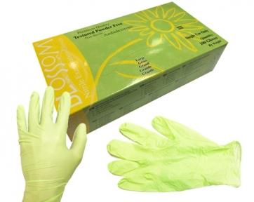 Рукавички нітрилові Blossom, 100 шт. (50 пар/авокадо)