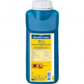 Korsolex Extra (Корзолекс Екстра) дезінфекція та очищення медичних інструментів