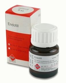 Ендофіл (Endofill) з дексаметазоном для постійного пломбування, порошок 15 г.