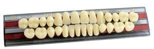 Зубы акриловые YAMAHACHI (Япония) полный гарнитур 28 зубов