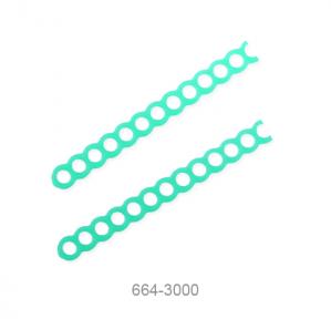 Восковые ретенции с отверстиями прямые, Renfert (664-3000)