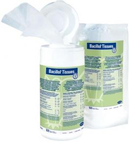 Bacillol-Tissues (Бацилол салфетки) быстрая дезинфекции, 100 шт.