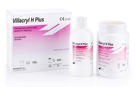 Villacryl H-Plus (Виллакрил Аш Плюс) для базисов протезов, 300г. + 150мл.