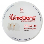 Dental Zirconia Blank TT—LT—M 1000Mpa (Multi Layered, цирконієвий бланк)