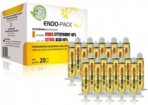 ENDO-PACK Citric Acid 40% шприци для промивання, 20 шт.