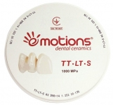 Dental Zirconia Blank TT—LT—S 1000Mpa (Multi Layered, цирконієвий бланк)