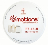 Dental Zirconia Blank TT—LT—M 600-1100Mpa (Multi Layered, цирконієвий бланк)